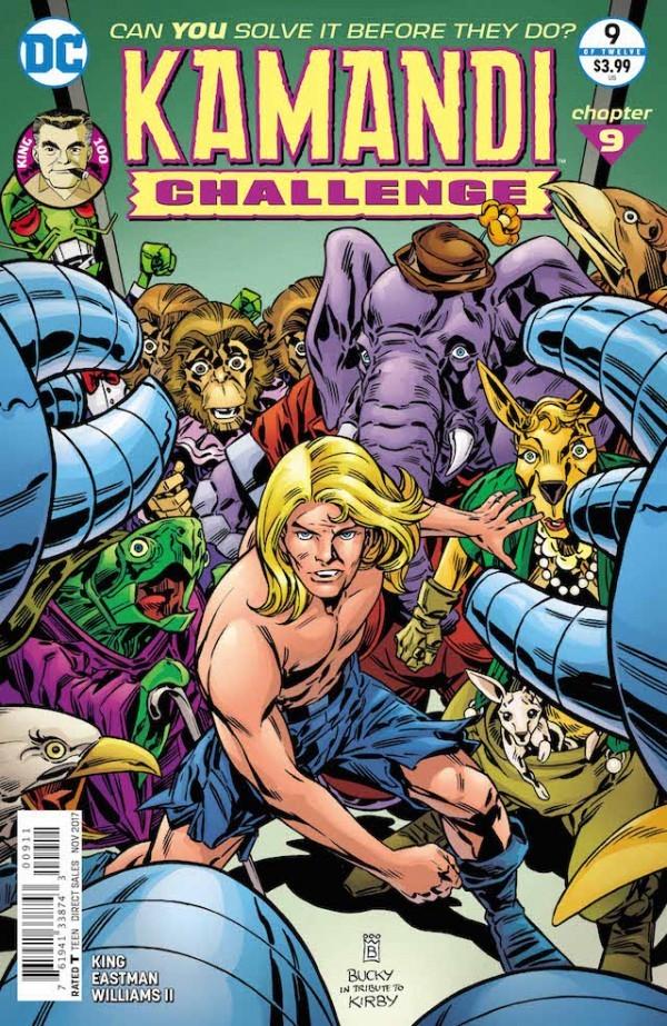 The Kamandi Challenge #9