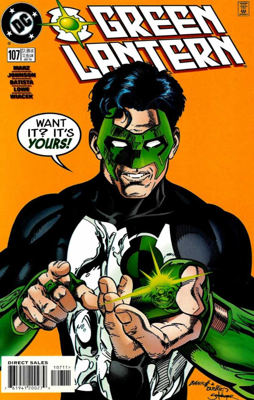 Green Lantern #107