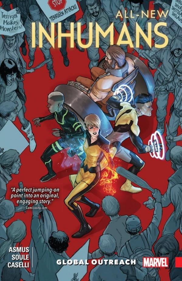 All New Inhumans Vol. 1: Global Outreach TP