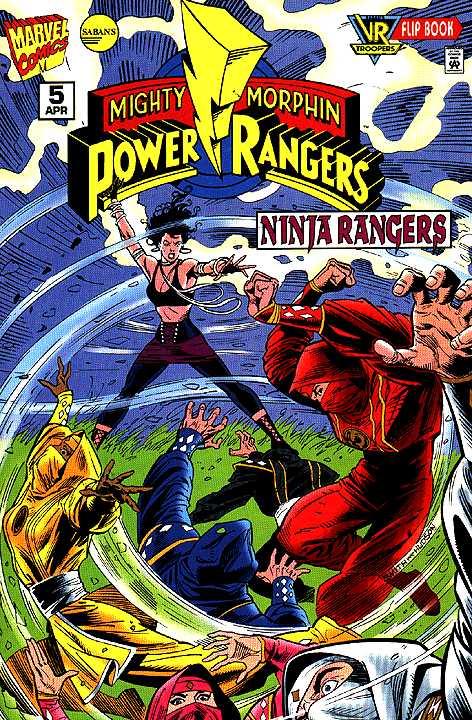 Mighty Morphin Power Rangers: Ninja Rangers / VR Troopers #5