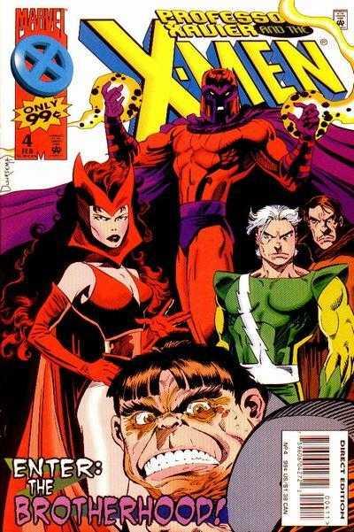 Professor Xavier and the X-Men #4