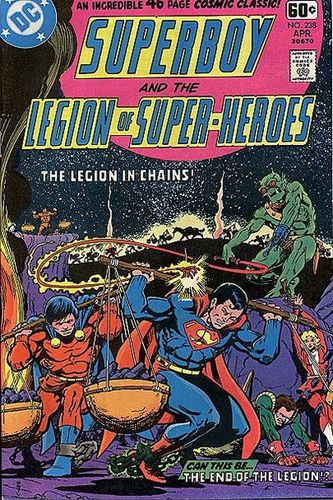 Superboy and the Legion of Superheroes #238