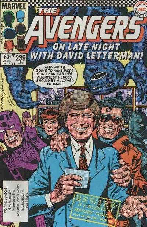 The Avengers #239
