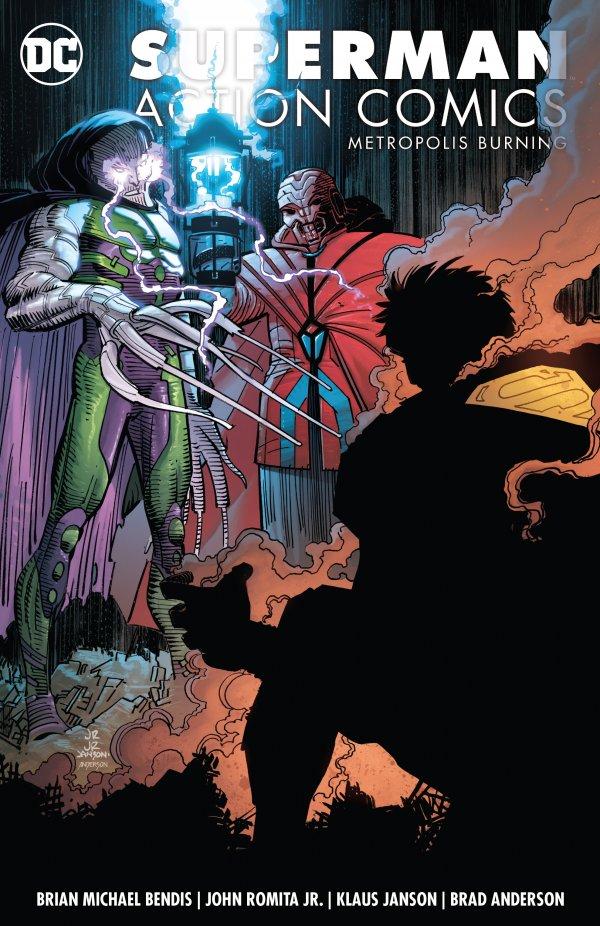 Action Comics Vol. 4: Metropolis Burning TP