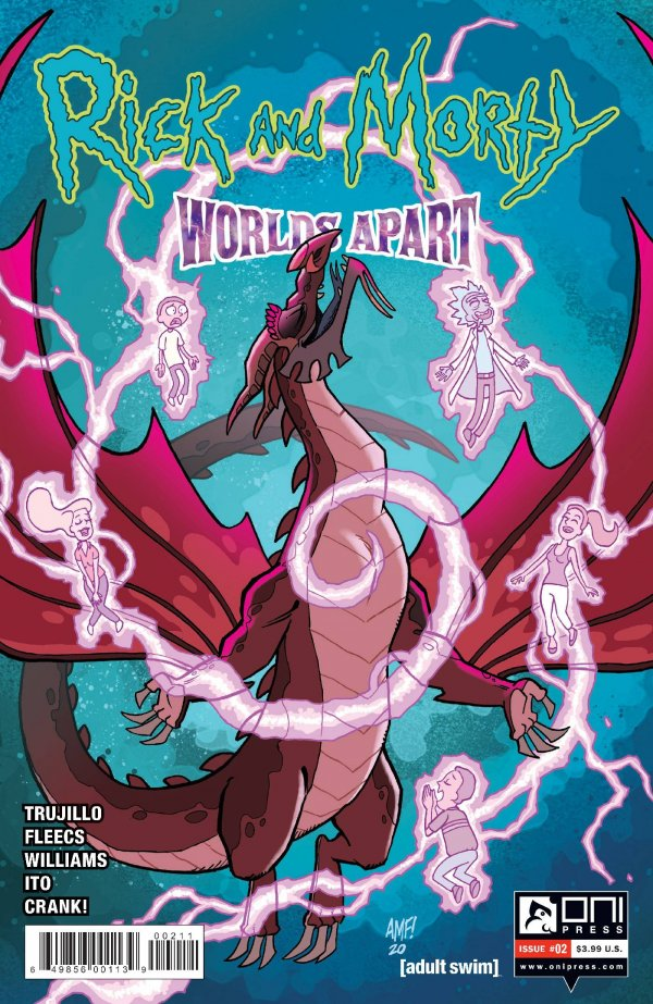Rick and Morty: Worlds Apart #2