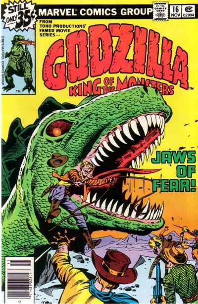 Godzilla: King of the Monsters #16