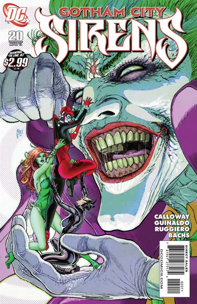 Gotham City Sirens #20