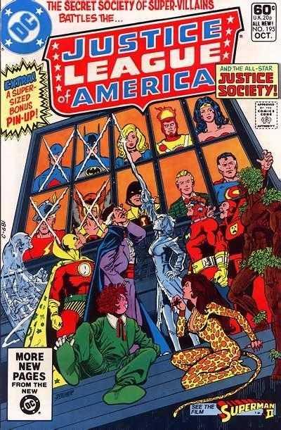 Justice League of America #195