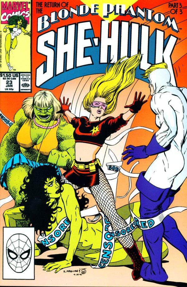 The Sensational She-Hulk #23