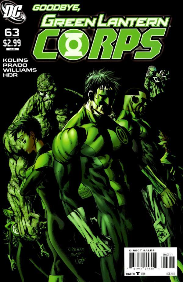 Green Lantern Corps #63