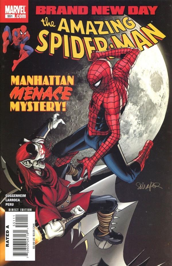 The Amazing Spider-Man #551