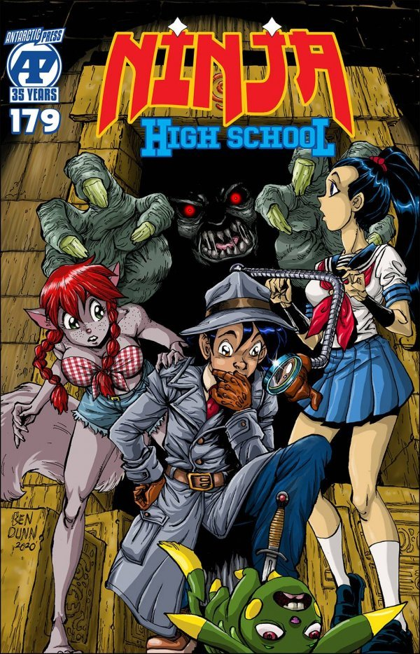 Ninja High School #179