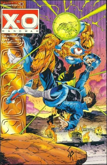 X-O Manowar Yearbook #1