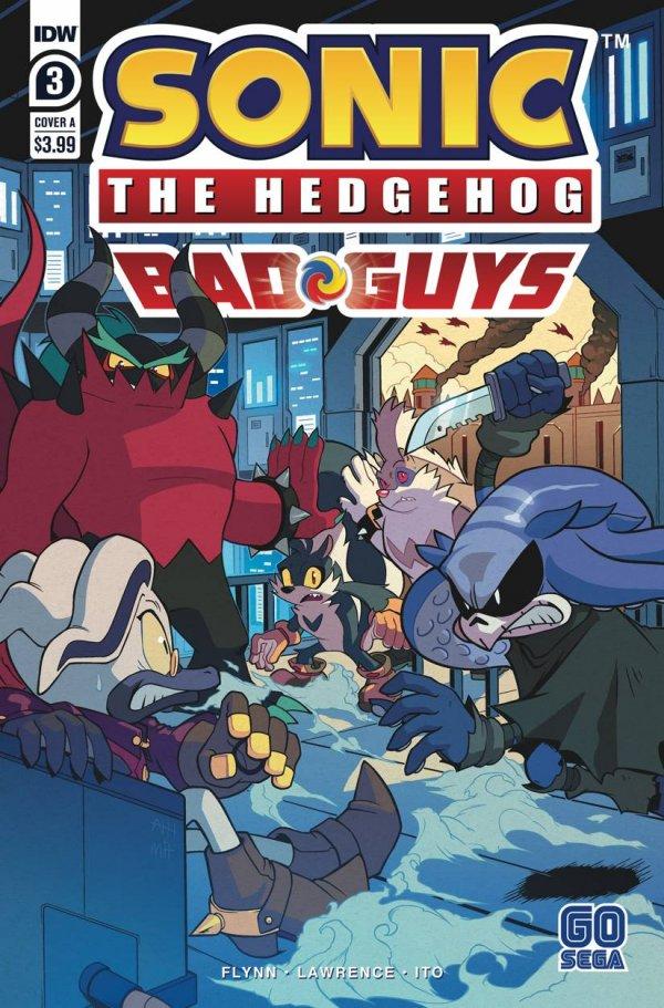 Sonic The Hedgehog: The Bad Guys #3