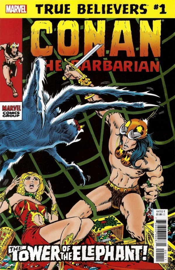 True Believers: Conan - The Tower of the Elephant #1