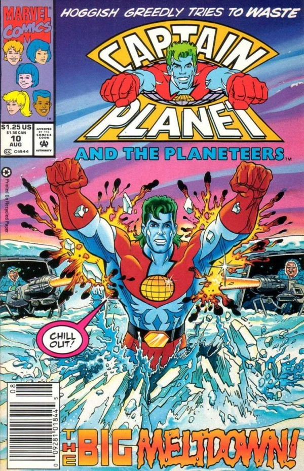 Captain Planet and the Planeteers #10