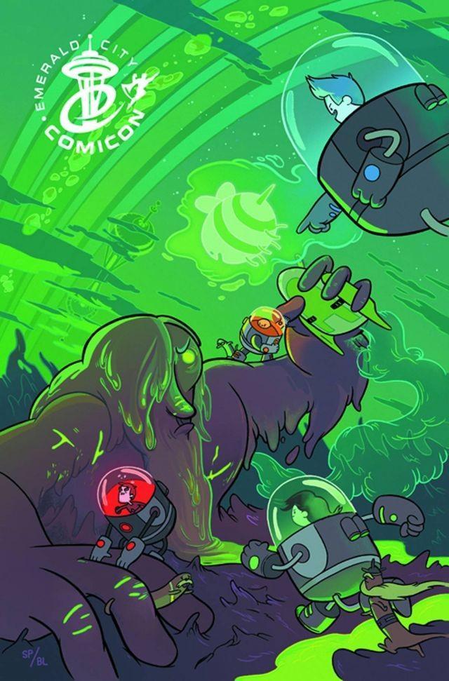 Bravest Warriors #1 Emerald City Comic Con Variant