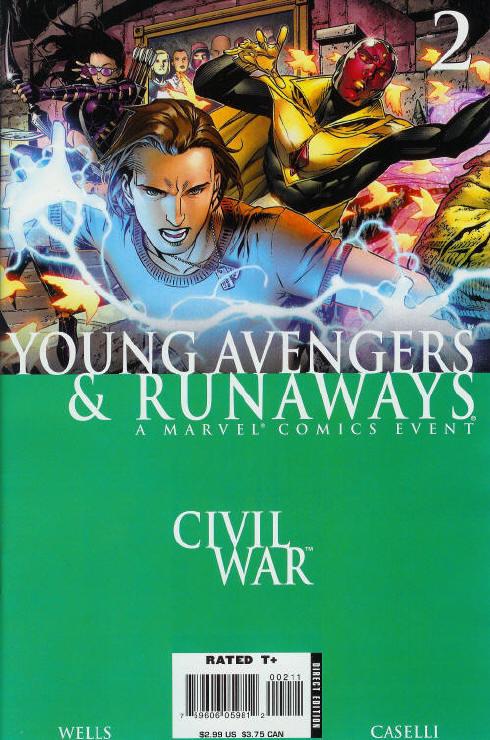 Civil War: Young Avengers & Runaways #2