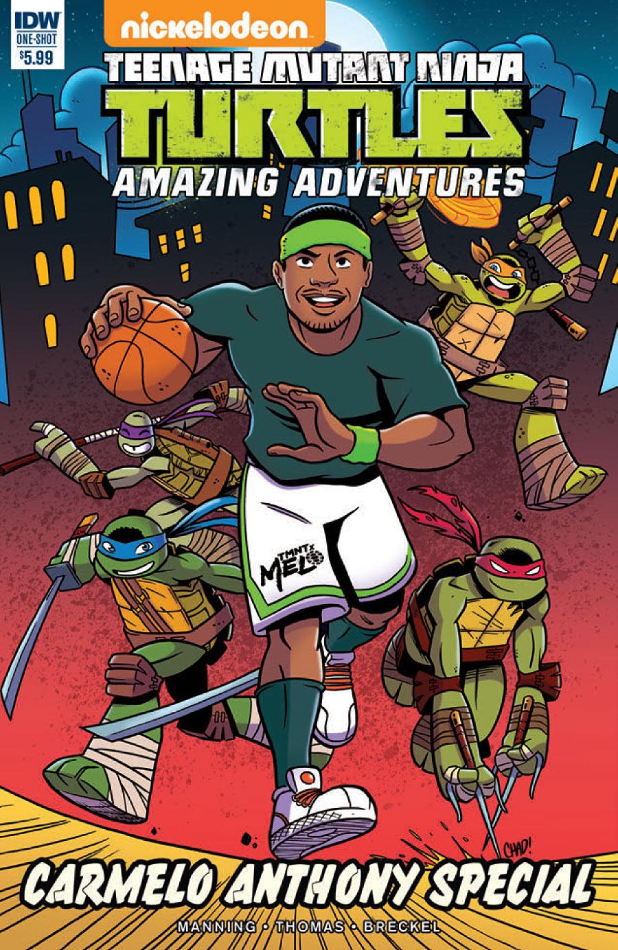 Teenage Mutant Ninja Turtles: Amazing Adventures: Carmelo Anthony Special #1