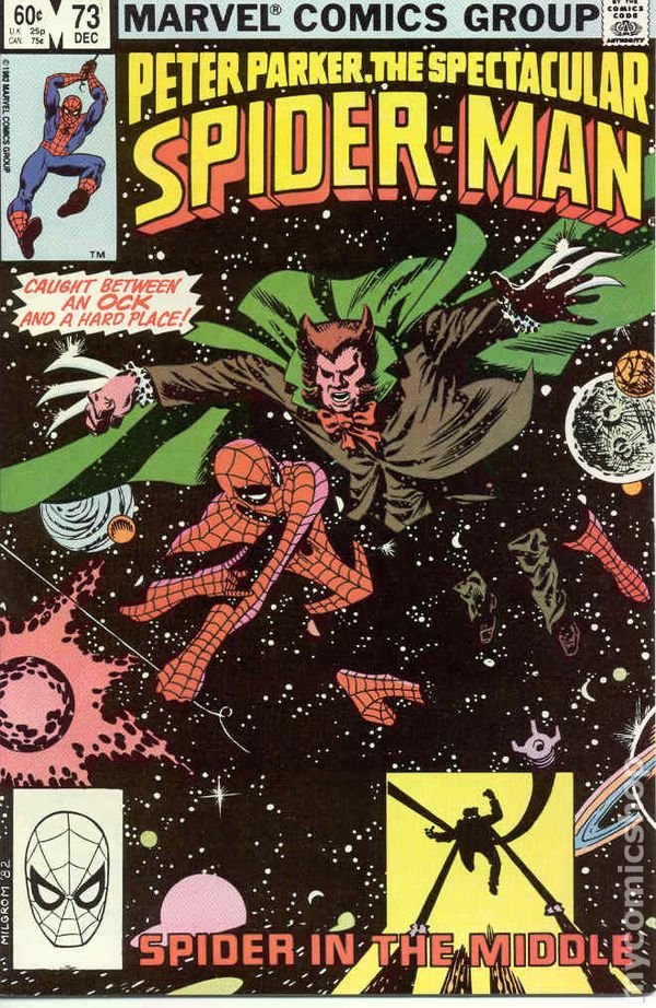 Peter Parker, The Spectacular Spider-Man #73