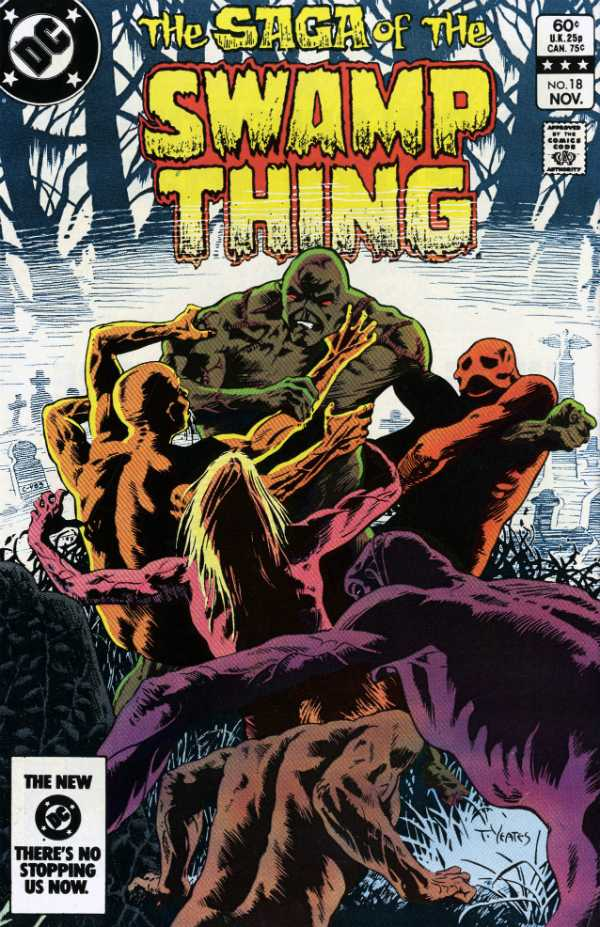 The Saga of the Swamp Thing #18