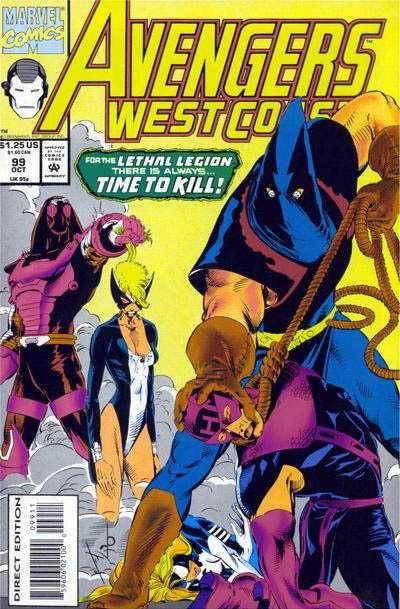 Avengers West Coast #99