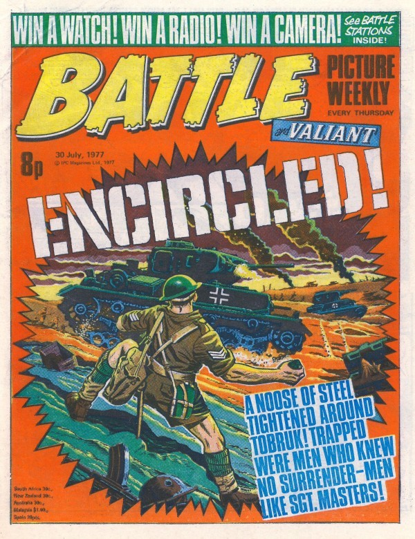 Battle Picture Weekly #126 (July 30th, 1977)