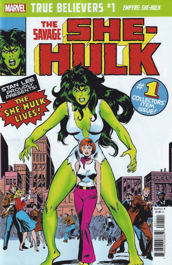 True Believers: Empyre - She-Hulk #1