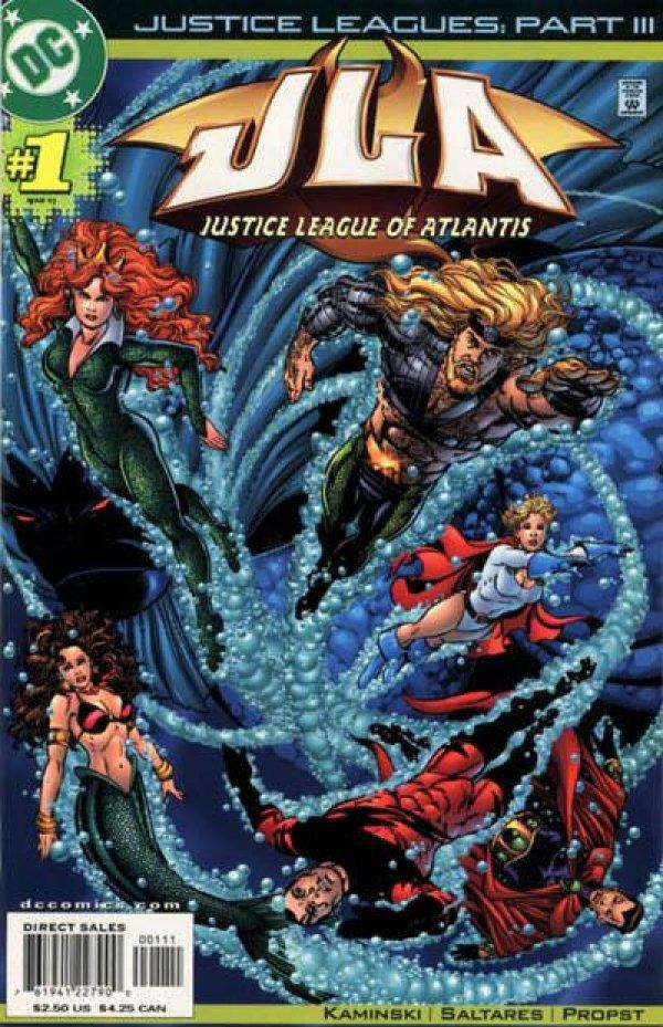 Justice Leagues: Justice League of Atlantis #1