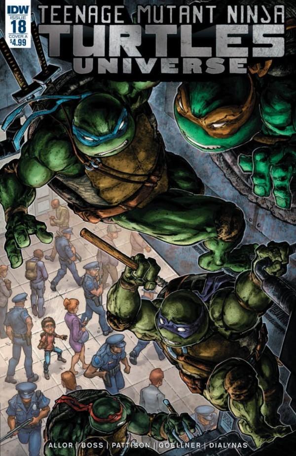 Teenage Mutant Ninja Turtles: Universe #18