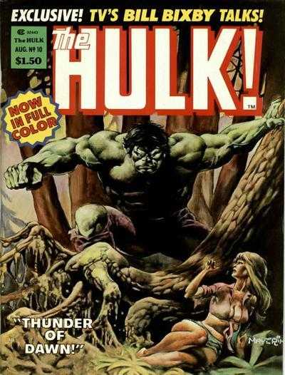 The Rampaging Hulk #10