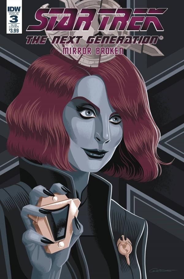 Star Trek: The Next Generation - Mirror Broken #3
