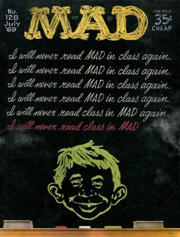 Mad Magazine #128