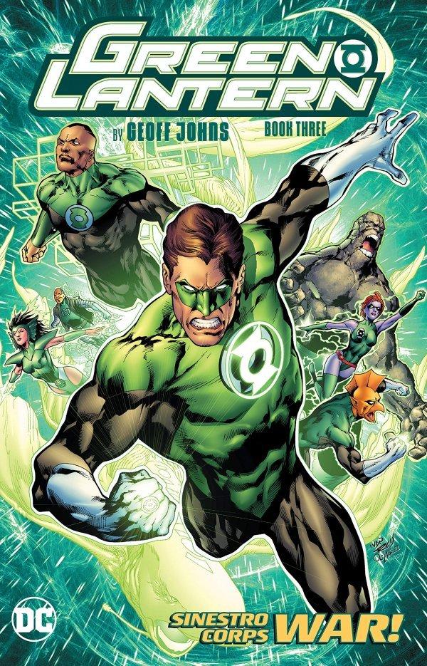 Green Lantern by Geoff Johns Book Three TP