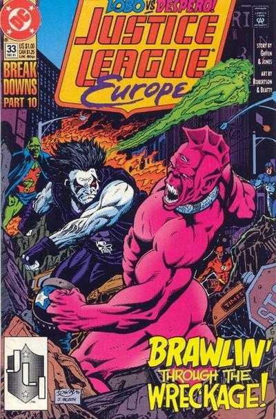 Justice League Europe #33