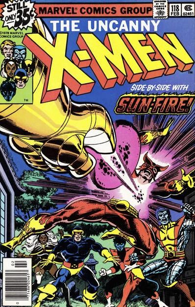 The X-Men #118