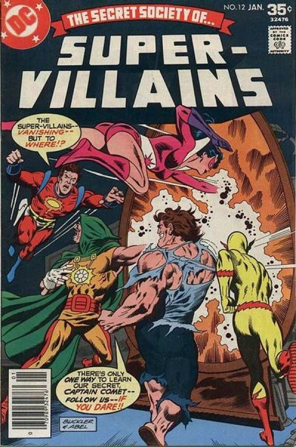 The Secret Society of Super-Villains #12