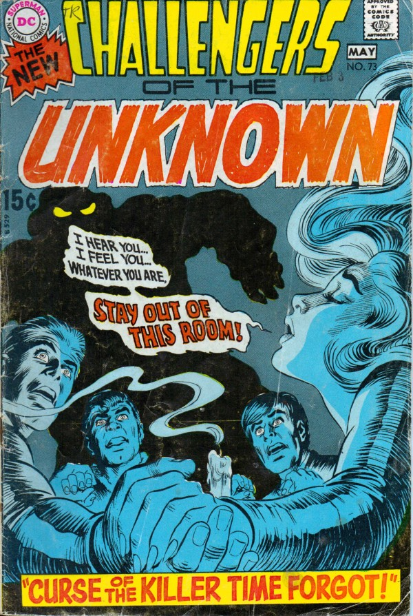 Challengers of the Unknown #73