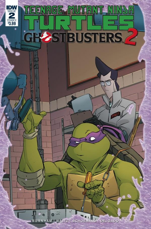 Teenage Mutant Ninja Turtles / Ghostbusters 2 #2