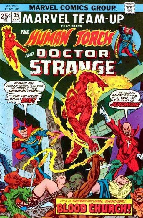 Marvel Team-Up #35