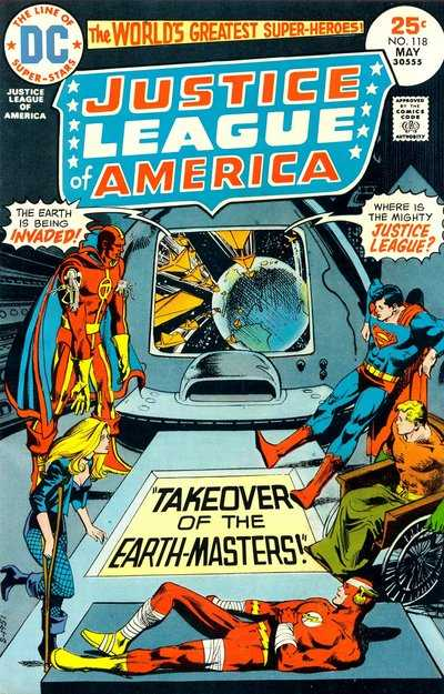 Justice League of America #118