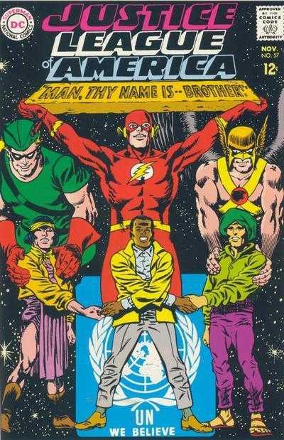 Justice League of America #57
