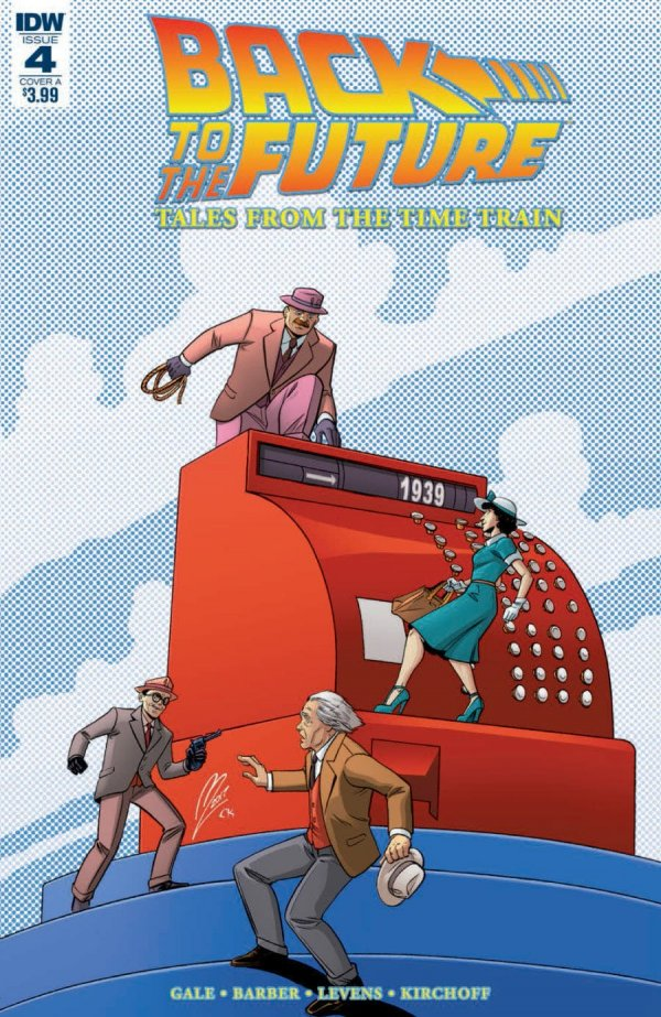 Back to the Future: Tales from the Time Train #4