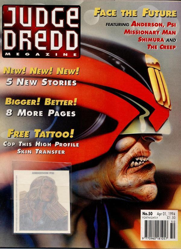 Judge Dredd: The Megazine #50