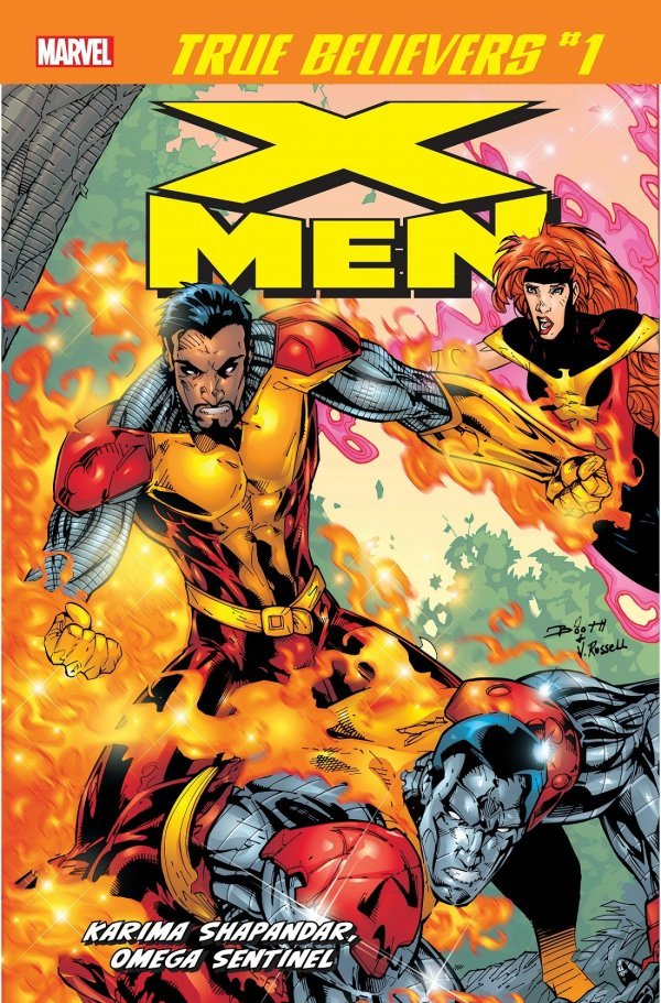 True Believers: X-Men - Karima Shapandar - Omega Sentinel #1