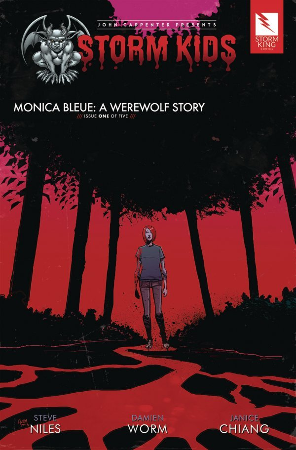 John Carpenter Presents Storm Kids: A Monica - Bleue Werewolf Story #1 review