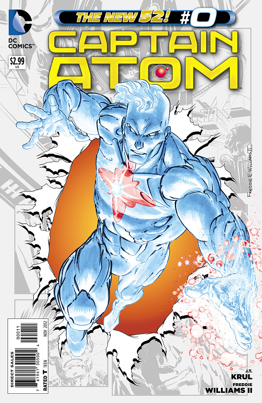 Captain Atom #0