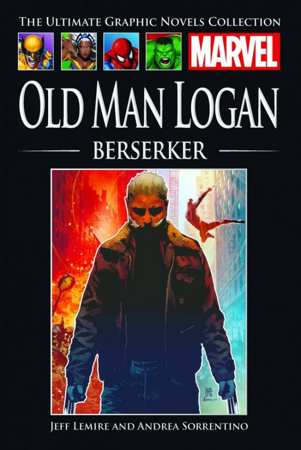 The Ultimate Graphic Novels Collection Old Man Logan: Berserker