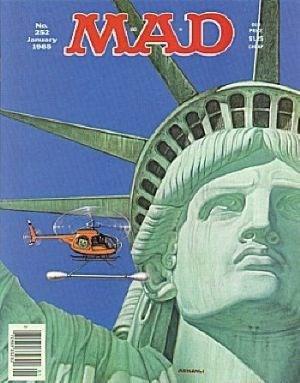 Mad Magazine #252