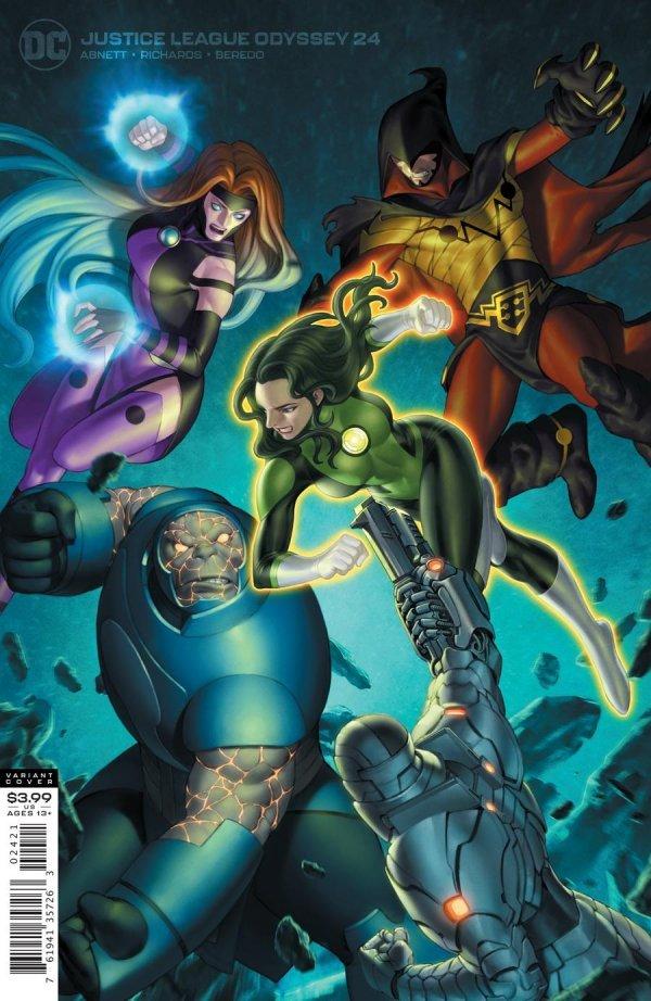 Justice League Odyssey #24